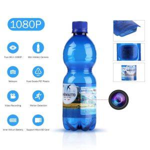 Cámara espía de botella de agua
