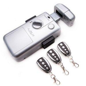 Cerradura invisible con batería