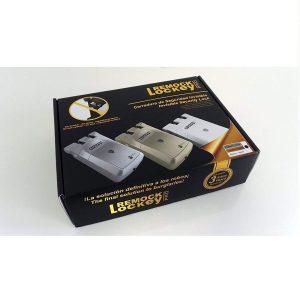 Cerradura invisible con cuatro mandos
