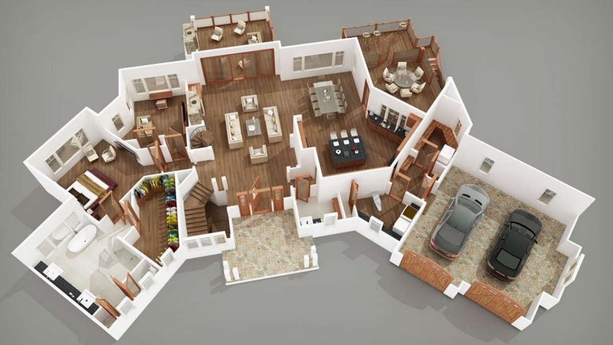 Los 10 mejores programas para crear planos 3d de casas - Planos en 3d de casas ...