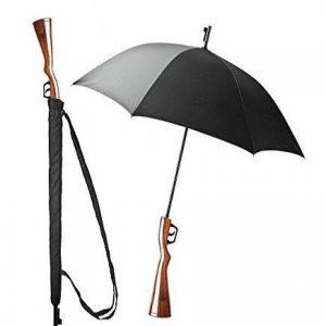 Paraguas con forma de rifle