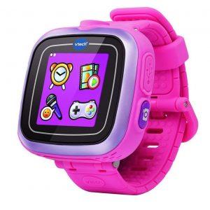 28d4dc143a48 Uno de los relojes inteligentes que más van a gustar a los niños es este  modelo en color rosa y que cuenta con muchas funciones diferentes con las  que lo ...