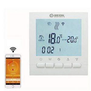 Termostato digital wifi Beok con pantalla LCD